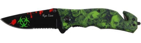 Einhandmesser Zombie Taschenmesser