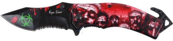 Einhandmesser Zombie