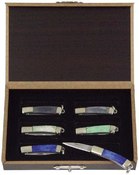 Mini Taschenmesser 6er Box