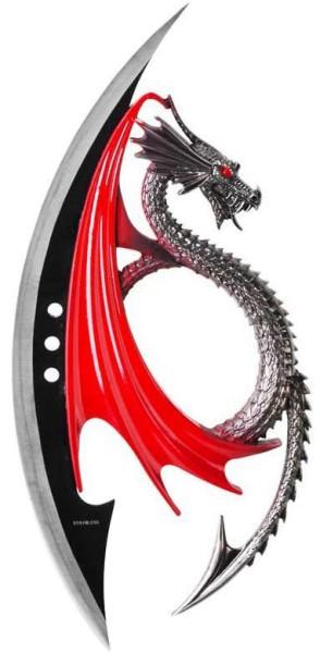 Fantasy Dolch im Drachendesign