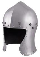 Italienischer Barbuta Helm