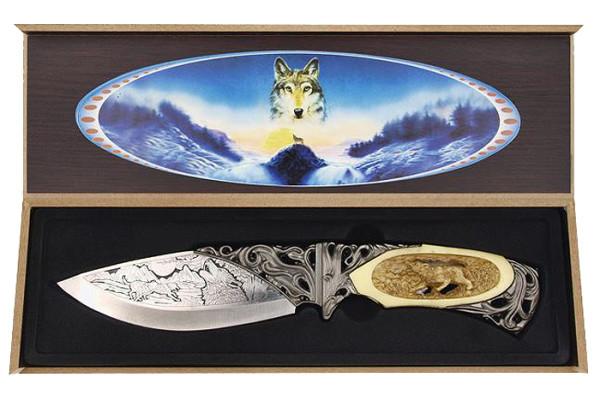 Wolfmesser in Geschenkbox