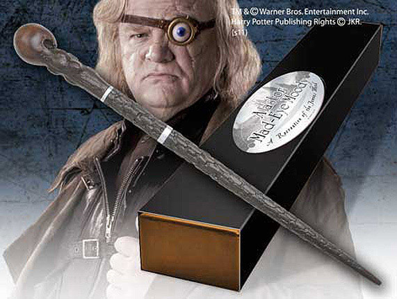 Mad Eye Moody Zauberstab - Charakter Edition