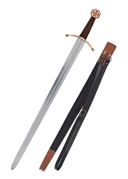 Kreuzritter Schwert mit Scheide