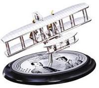 Flugmaschine Gebrüder Wright