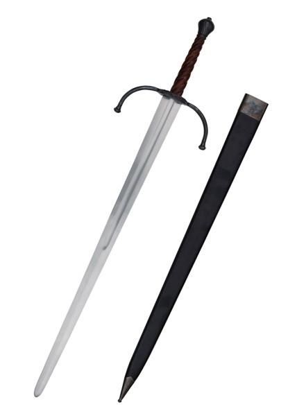 Spätmittelalterliches Zweihandschwert für Schaukampf