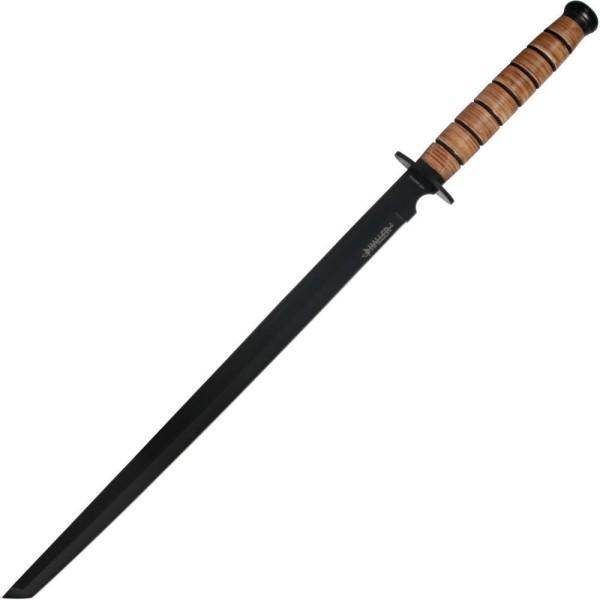 Ninjaschwert-mit-Lederwicklung