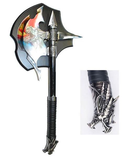 Fantasy Axt mit Wandhalter