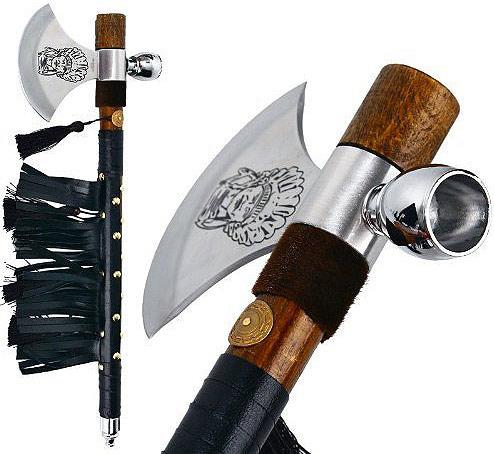 Tomahawk mit Friedenspfeife II