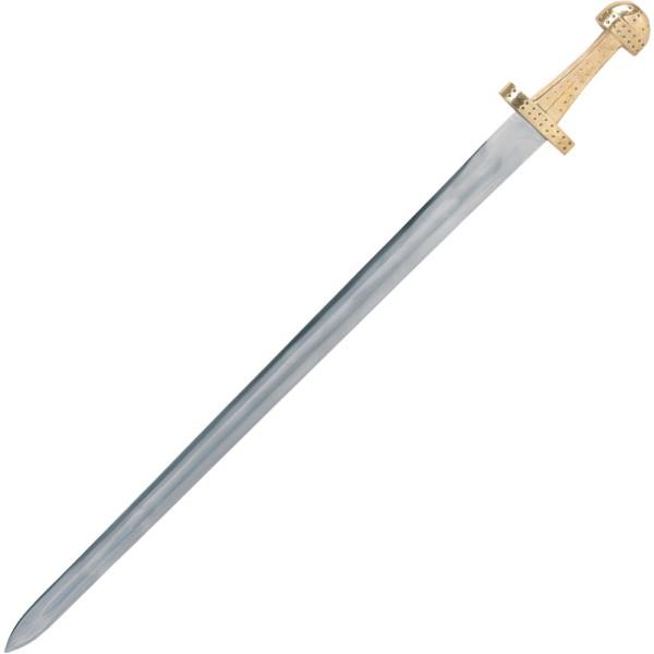 Wikingerschwert mit Lederscheide