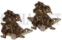 Samurai Wandhalter Set Gold Preisvergleich