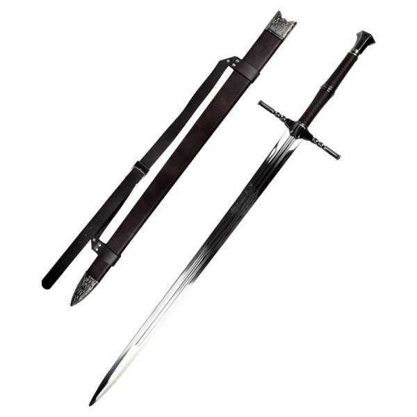 Witcher Stahlschwert mit Scheide