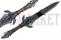 GT-DEKO - Fantasy und Schwert Shop Larp Warcraft Schwert von Lothar LARP