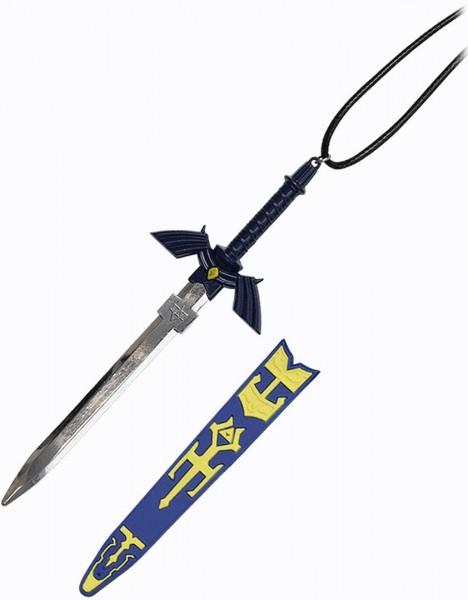 Zelda Halskette mit Schwert