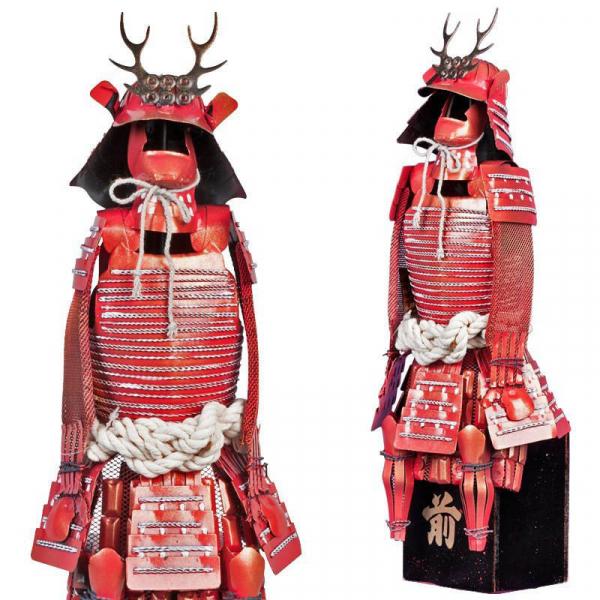 Samurai Krieger Rüstung General Sanada Saemon Yukimura