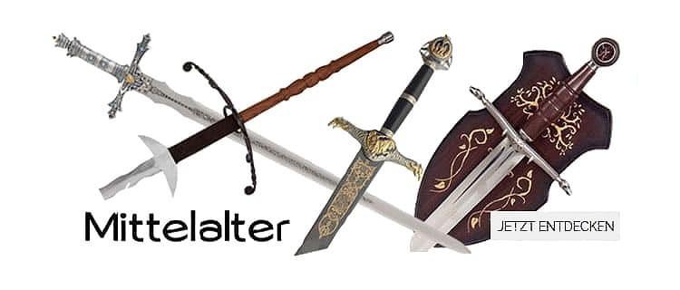 Mittelalter Dekoschwerter