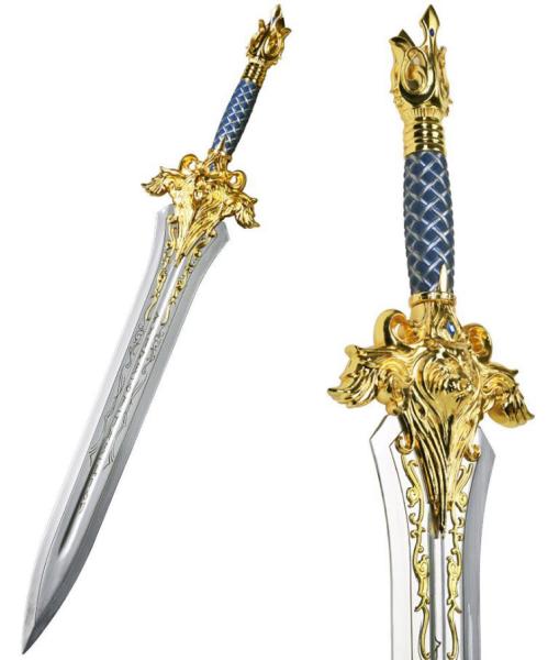 World of Warcraft Azeroth Schwert mit Tischständer