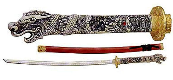 Conner MacLeod Samurai Katana