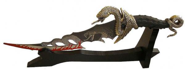 Fantasy Dolch Cobra