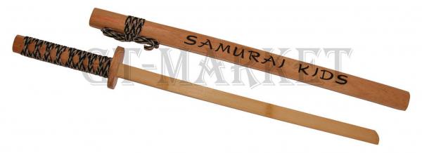 Samurai Trainingsschwert aus Holz