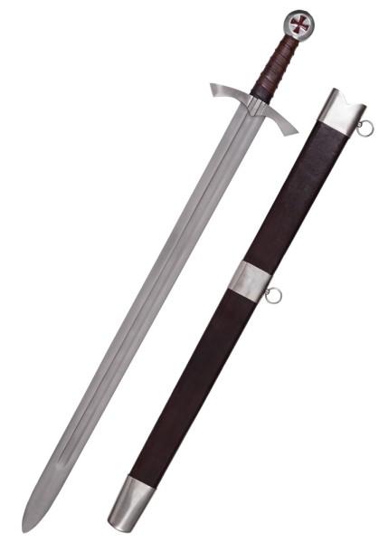Schottisches Templerschwert mit Scheide